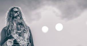 Rob Zombie bor i konserten 2017 Fotografering för Bildbyråer