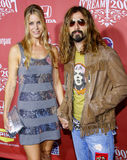 Rob Zombie et Sheri Moon Images stock