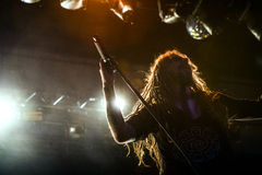 Rob Zombie headlines Mayhem Fest Royalty Free Stock Images
