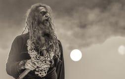 Rob Zombie levande konsert 2017 Royaltyfria Bilder
