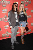 Rob Zombie, lune de Sheri Photo stock