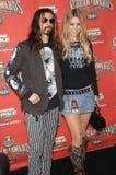 Rob Zombie, Sheri Mond Lizenzfreies Stockfoto