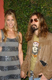 Rob Zombie, Sheri Moon Stock Images