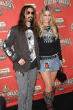 Rob Zombie,Sheri Moon Royalty Free Stock Photo