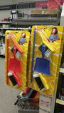 Roba di pulizia del giocattolo dei bambini Immagini Stock Libere da Diritti