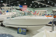 Robalo boat on display Royalty Free Stock Photo