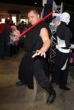 Robb Yanagihara at Long Beach Comic and Horror Con, Long Beach Convention Center, Long Beach, CA 10-30-11 Royalty Free Stock Image