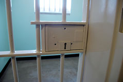Robben海岛监狱在南非 免版税库存照片