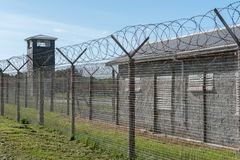 Robben-Insel-Gefängnis stockfoto