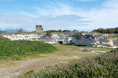 Lime Quarry on Robben Island Royalty Free Stock Image