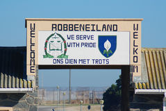 Robben Island prison Stock Images
