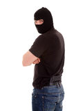 Robber in the balaclava Royalty Free Stock Images