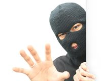 Robber grab Royalty Free Stock Photos