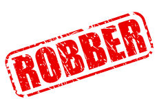Robber red stamp text Stock Photos