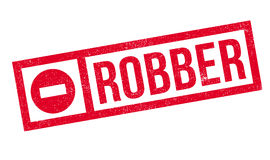 Robber rubber stamp. Grunge design with dust scratches. Effects can be easily removed for a clean, crisp look. Color is easily changed Royalty Free Stock Photos