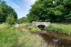 Robber's Bridge on Exmoor Royalty Free Stock Images