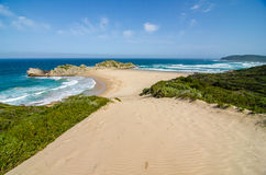 Robberg Nature Reserve, Garden route, South Africa. Stock Image