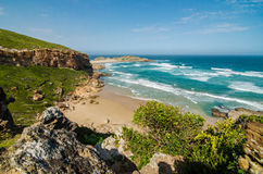 Robberg Nature Reserve, Garden route, South Africa. Royalty Free Stock Image