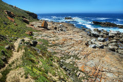 Robberg nature reserve Stock Photos