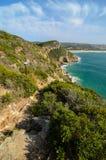 Robberg rezerwat przyrody, Ogrodowa trasa, Południowa Afryka Zdjęcie Royalty Free