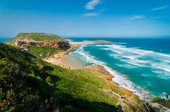 Robberg rezerwat przyrody, Ogrodowa trasa, Południowa Afryka Obrazy Stock