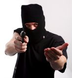 Robbery Royalty Free Stock Photography