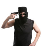 Robbery. Royalty Free Stock Photos