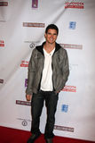Robbie Amell. LOS ANGELES - FEB 20: Robbie Amell arrives at the 24 Hour Hollywood Rush at Ebell Theater on February 20, 2011 in Los Angeles, CA royalty free stock photos