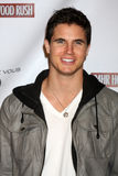 Robbie Amell. LOS ANGELES - FEB 20: Robbie Amell arrives at the 24 Hour Hollywood Rush at Ebell Theater on February 20, 2011 in Los Angeles, CA stock photos
