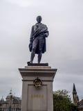 Robbie Burns, Aberdeen Fotografia Stock