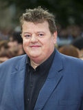 Robbie Coltrane. Arriving for the World Premiere of 'Harry Potter & the Deathly Hallows pt2', Trafalgar Square, London. 07/07/2011  Picture by: James McCauley Royalty Free Stock Photo