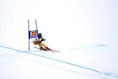Robbie Dixon - Fis World Cup. Robbie Dixon (Canada) - Val Gardena Gröden, Italy - Super G - FIS Alpine Ski World Cup - 19 December 2008 Royalty Free Stock Images