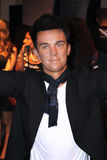 Robbie Williams an der Madame Tussauds Stockfotos