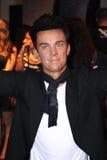 Robbie Williams at Madame Tussaud's stock photos