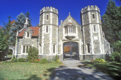 Robbins Manor, Annandale, NY in the Hudson River Valley Stock Photography