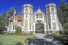 Robbins rezydencja ziemska, Annandale, NY w hudson dolinie Fotografia Stock