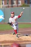 Robby Scott (pitcher) warms in the bullpen Stock Photography