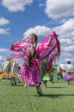 Robe attrayante de Natif américain Images libres de droits