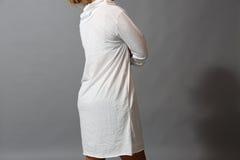 Robe avec des tirettes Photos stock