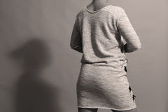 Robe avec des tirettes Photos libres de droits