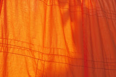 Robe of a Buddhist monk Royalty Free Stock Images