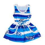 Robe de bleus layette Photo libre de droits