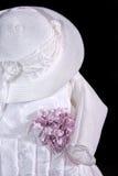 Robe de chéri avec le chapeau Photographie stock libre de droits