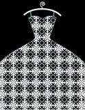 Robe de dentelle Image stock
