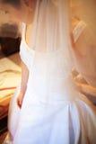 Robe de mariée Photo stock