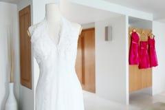 Robe de mariage. Image libre de droits