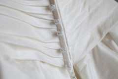 Robe de mariage. Images stock
