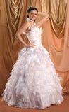 Robe de mariage Photo stock