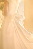 Robe de mariage Photo stock