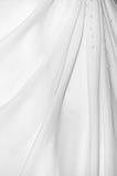 Robe de mariage blanche Images libres de droits